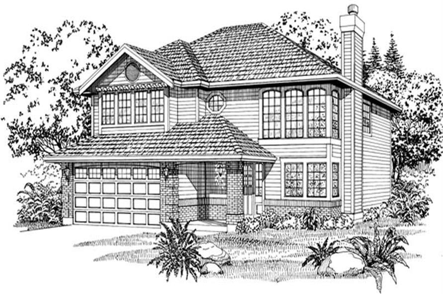 Main image for house plan # 6853