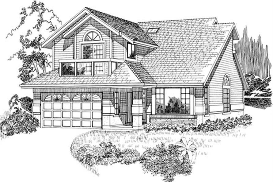 Main image for house plan # 6875