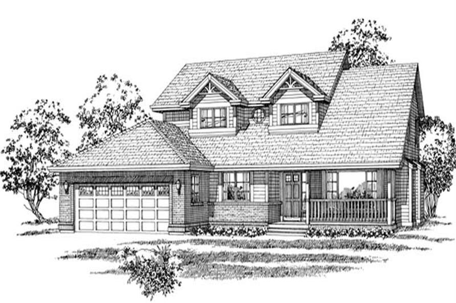 Main image for house plan # 6883
