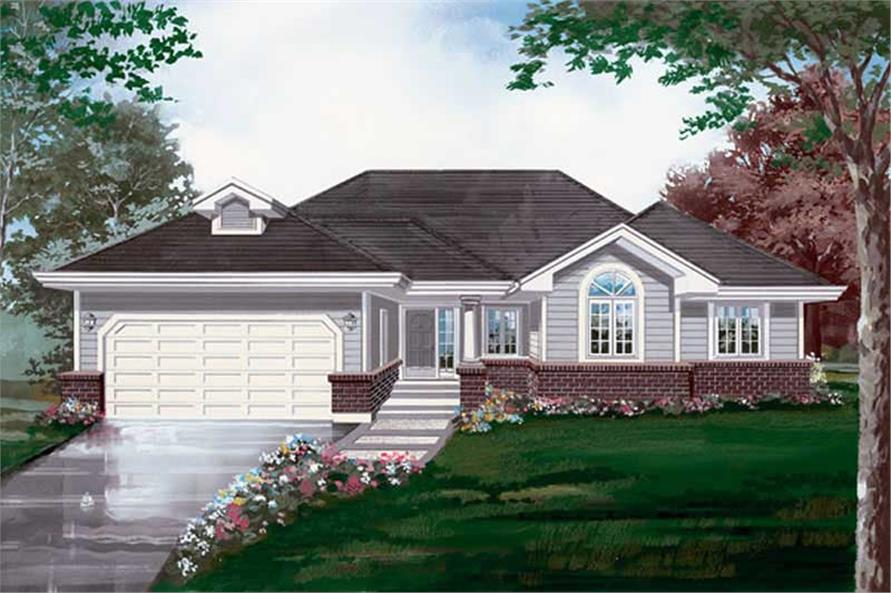 Main image for house plan # 6909