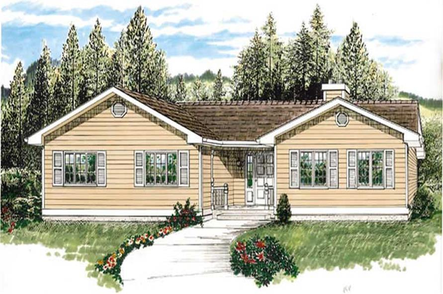 Main image for house plan # 7361