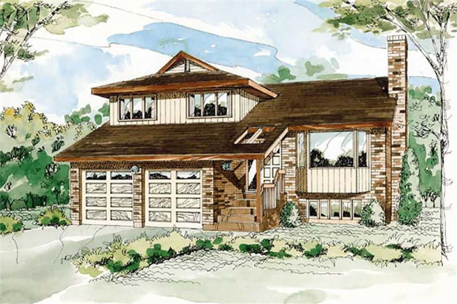 Main image for house plan # 7346