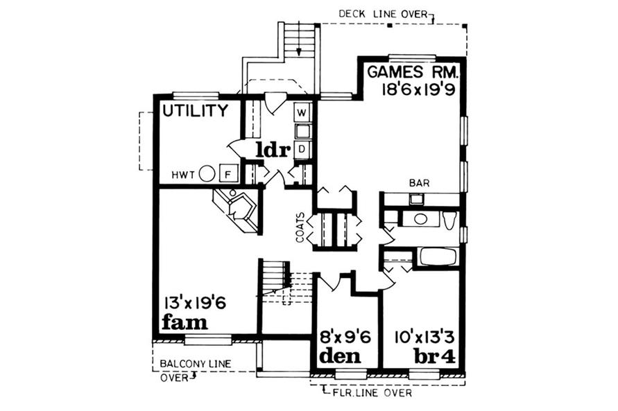 Main image for house plan # 7347