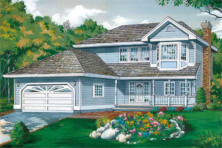 Main image for house plan # 7349