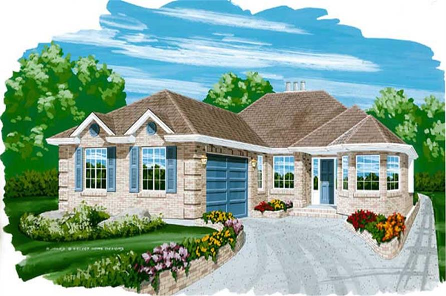 Main image for house plan # 7355