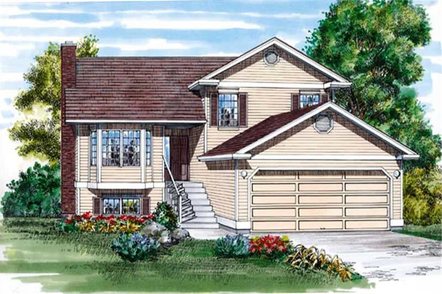 Main image for house plan # 7360