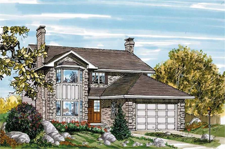 Main image for house plan # 7333