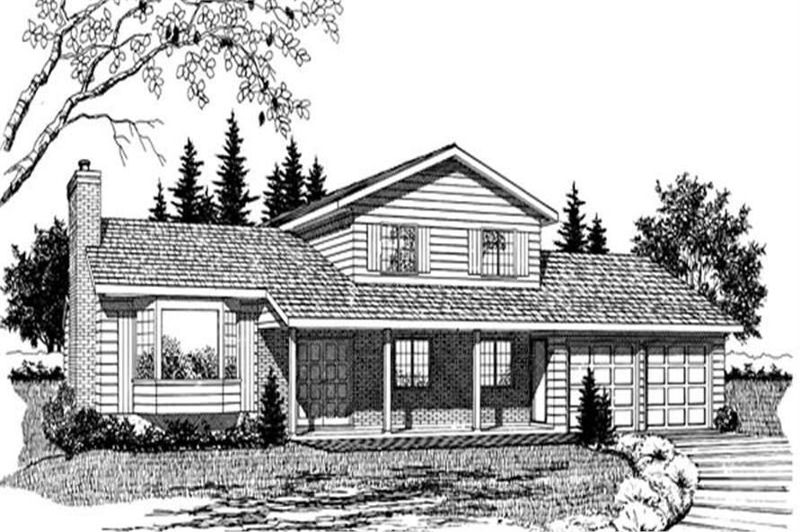 Main image for house plan # 6975