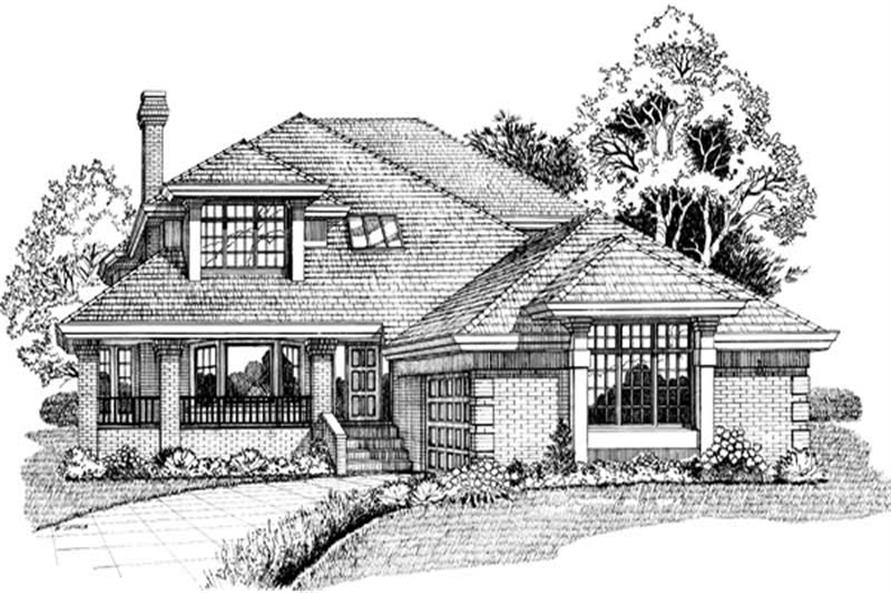 Main image for house plan # 7357