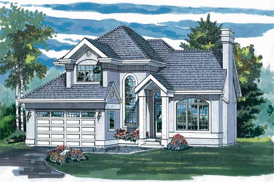 Main image for house plan # 7176