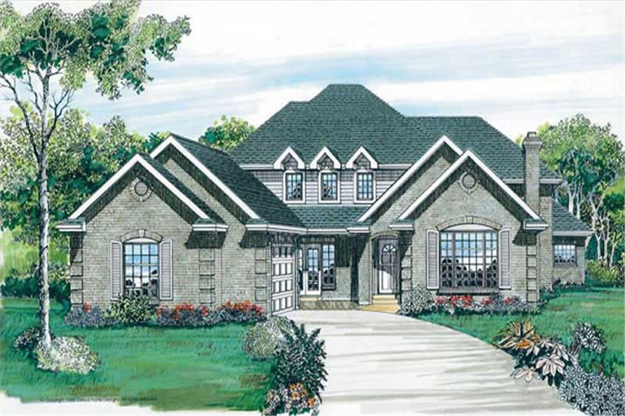 Main image for house plan # 7134