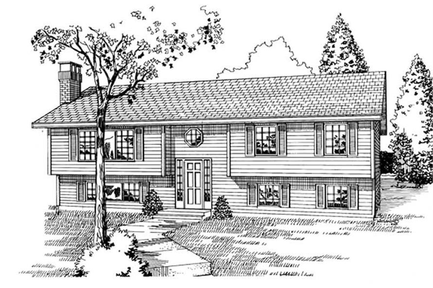 Main image for house plan # 7071