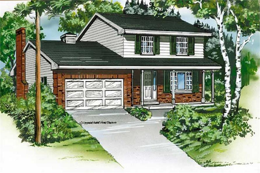 Main image for house plan # 7340