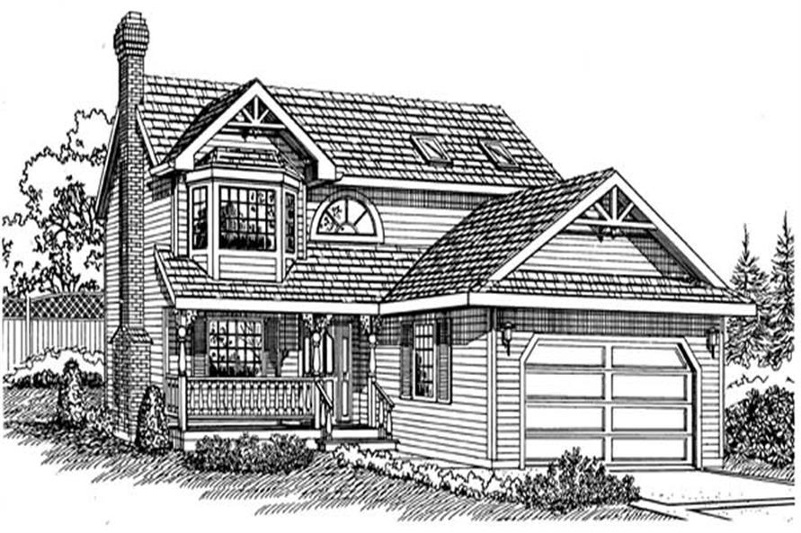 Main image for house plan # 7172
