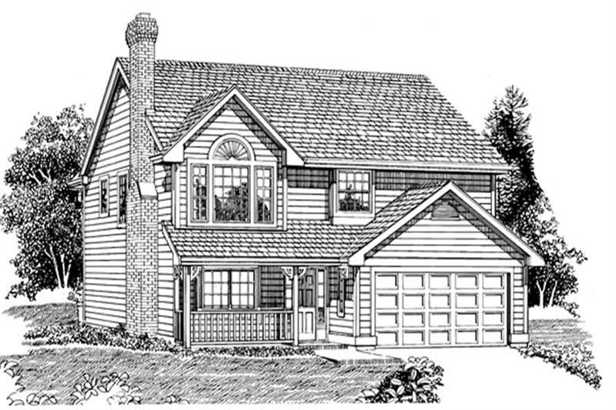 Main image for house plan # 7157