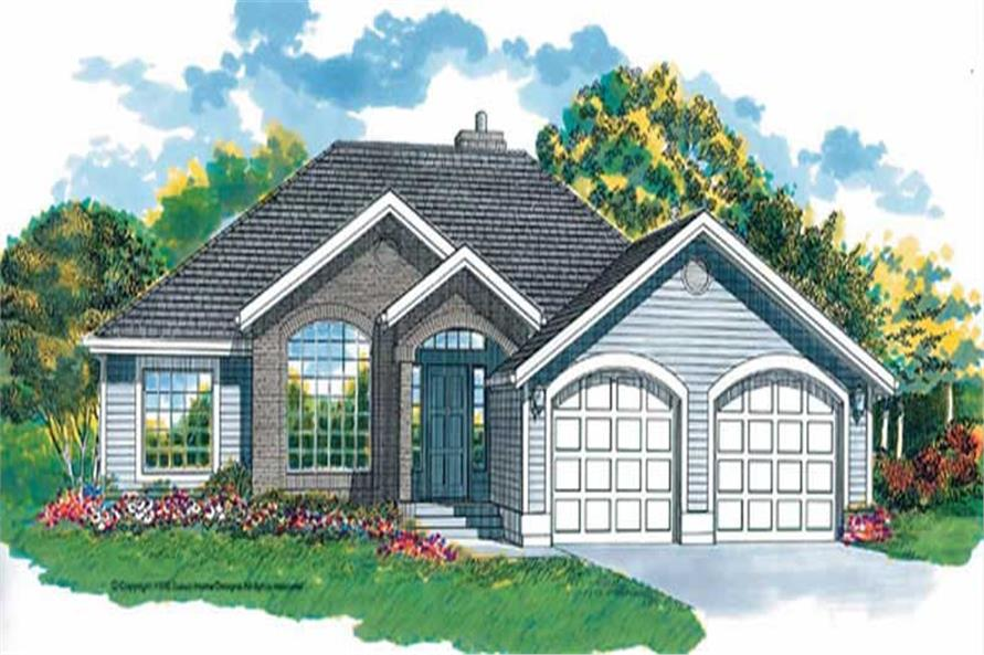 Main image for house plan # 7164