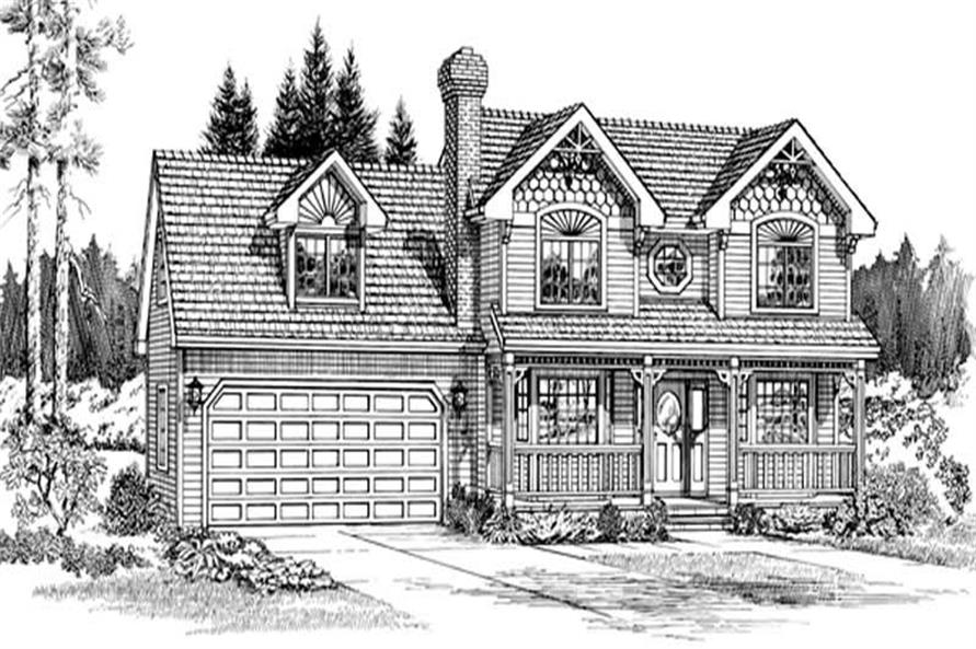 Main image for house plan # 7187