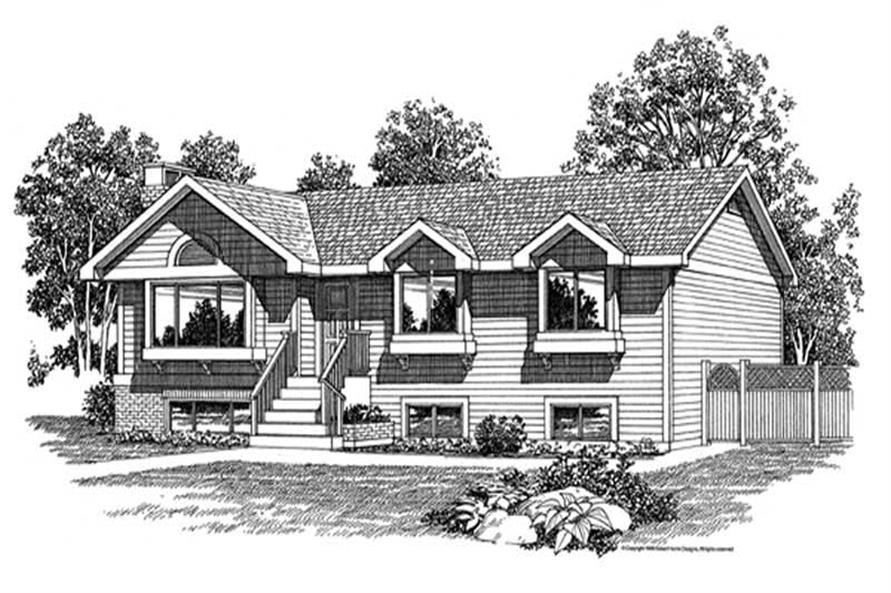 Main image for house plan # 7155