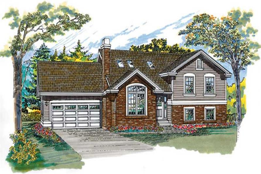Main image for house plan # 7260