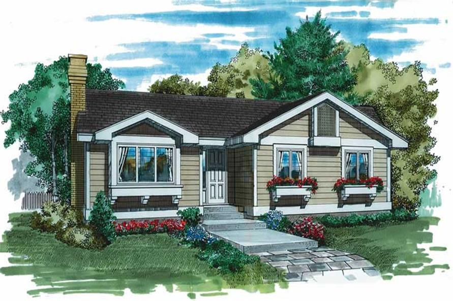 Main image for house plan # 7285