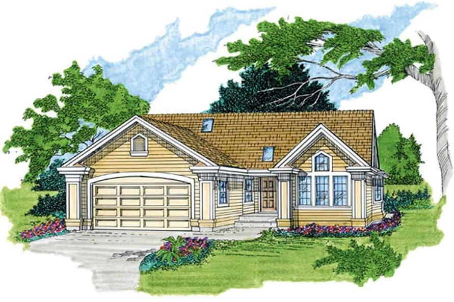 Main image for house plan # 7262