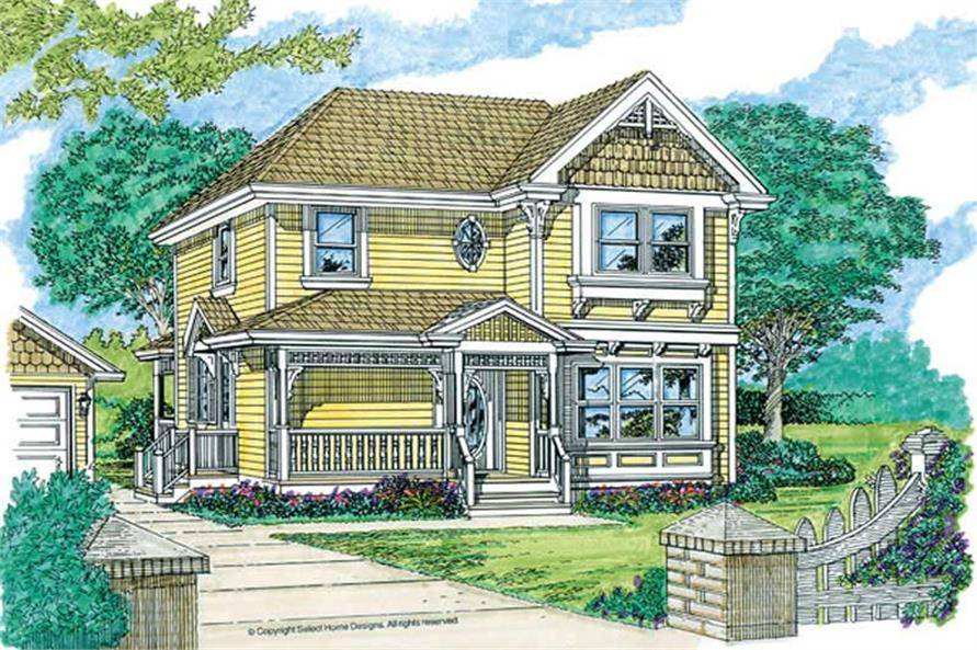 Main image for house plan # 7265