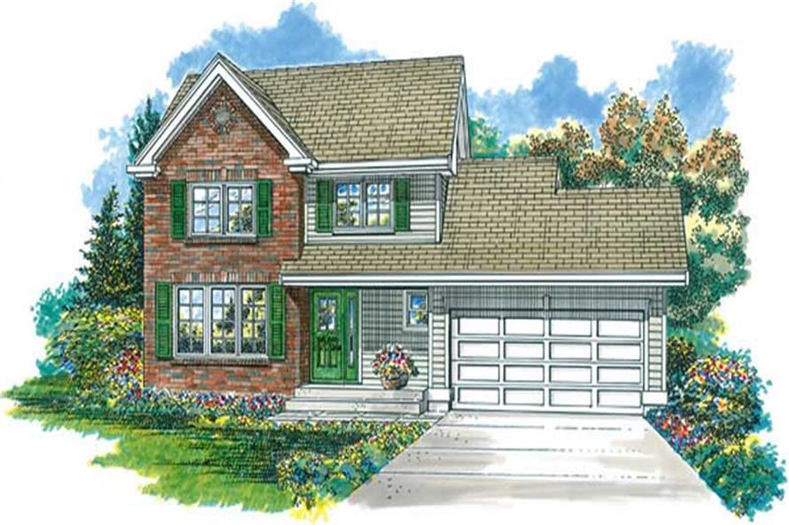 Main image for house plan # 7266