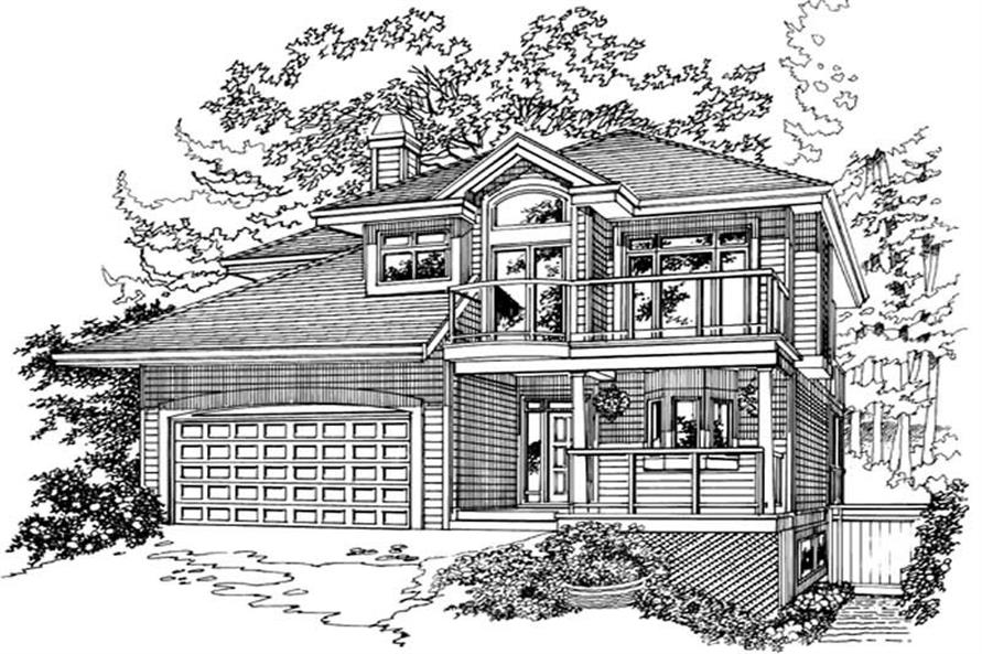 Main image for house plan # 7273