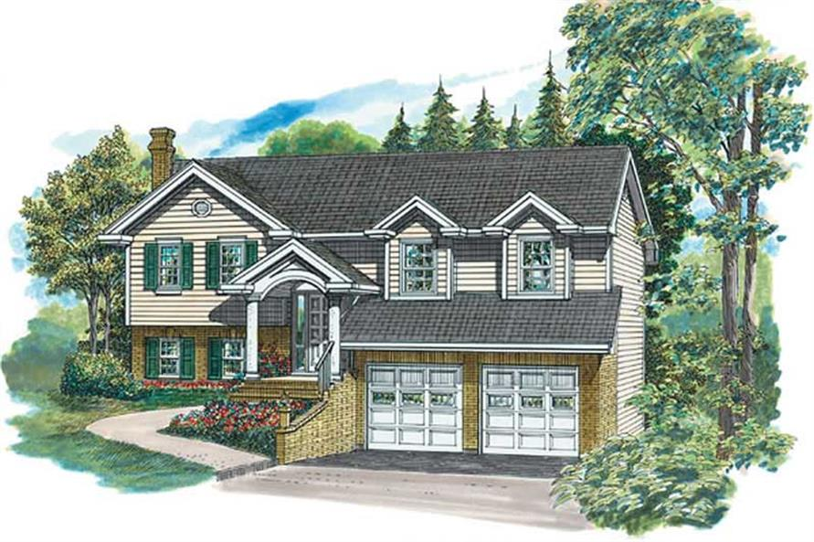 Main image for house plan # 7261