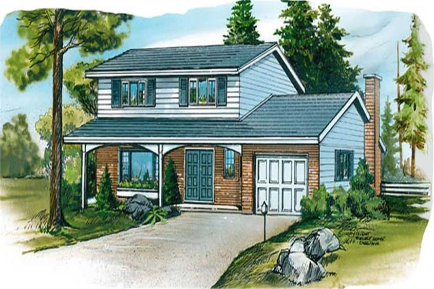 Main image for house plan # 7315