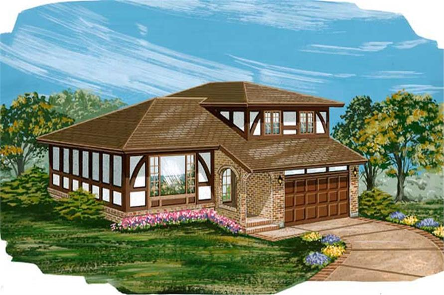 Main image for house plan # 7320