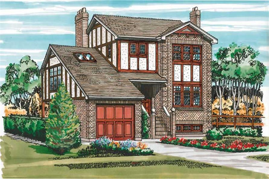 Main image for house plan # 7327
