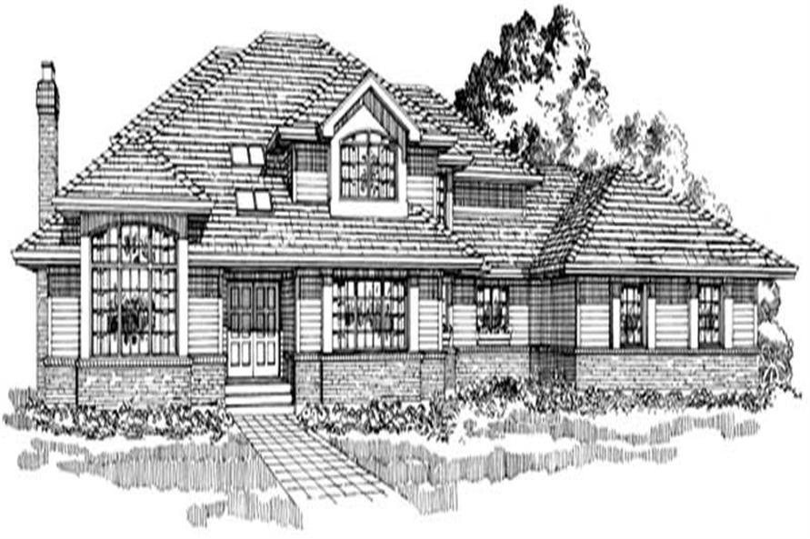 Main image for house plan # 7365