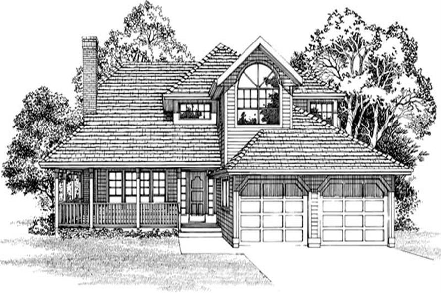 Main image for house plan # 7367