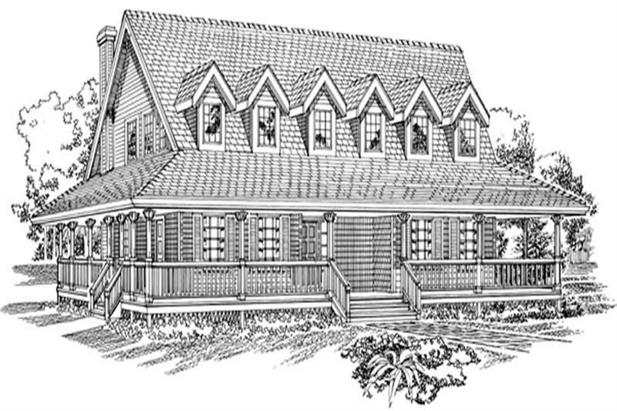 Main image for house plan # 7368