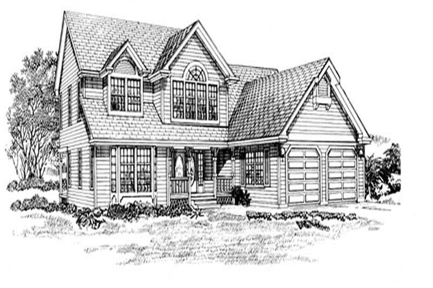 Main image for house plan # 7369
