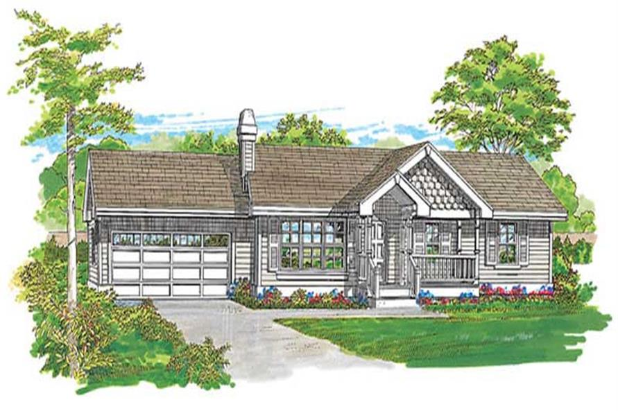 Main image for house plan # 7240