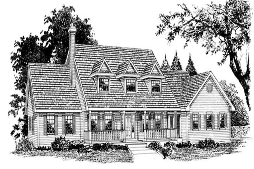 Main image for house plan # 7210