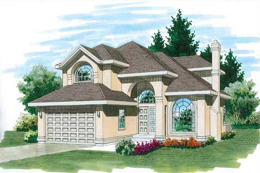 Main image for house plan # 7213