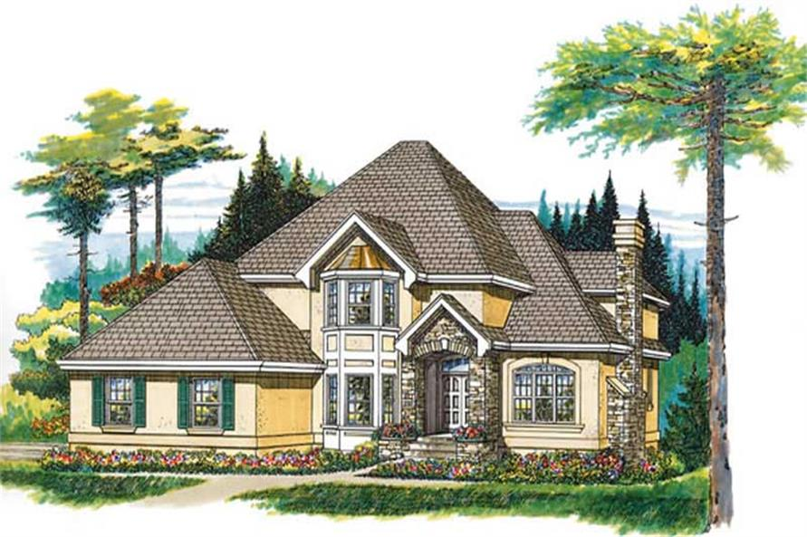 Main image for house plan # 7271