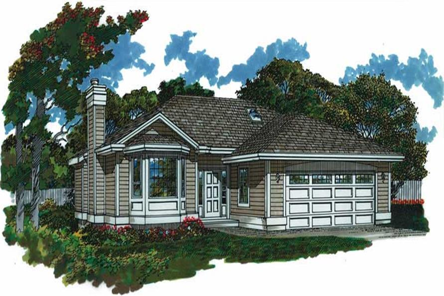 Main image for house plan # 7287