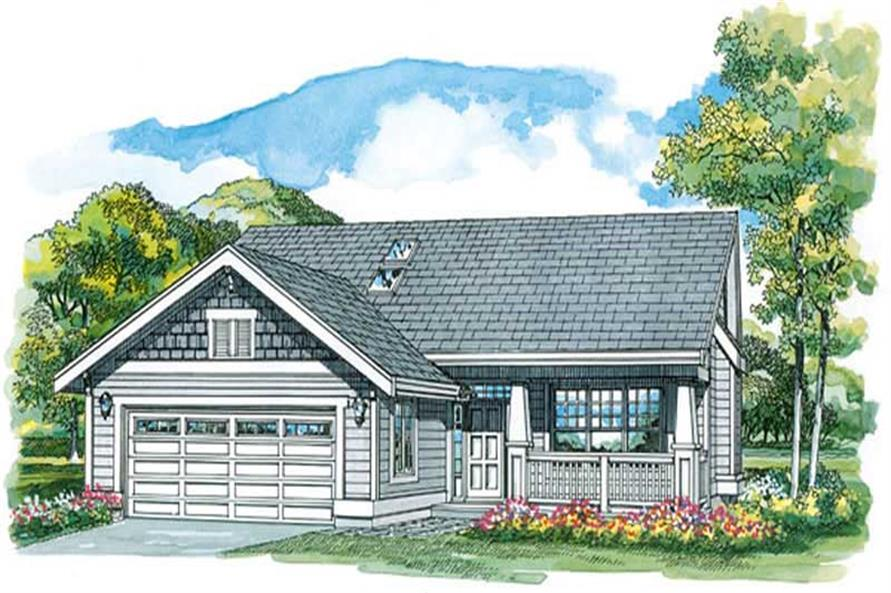 Main image for house plan # 7288