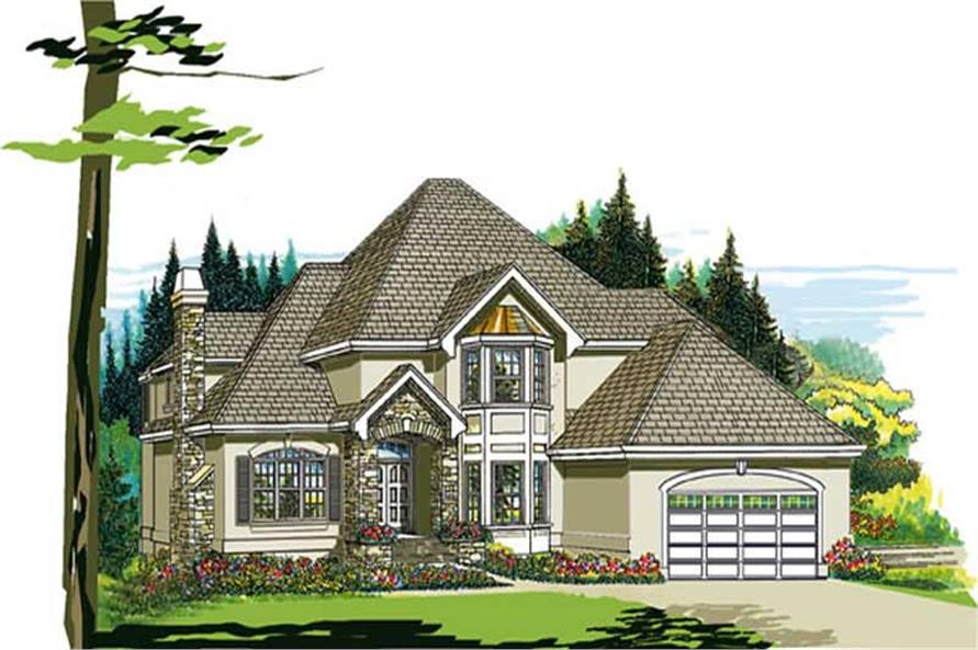 Main image for house plan # 7292