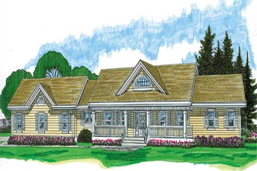 Main image for house plan # 7295