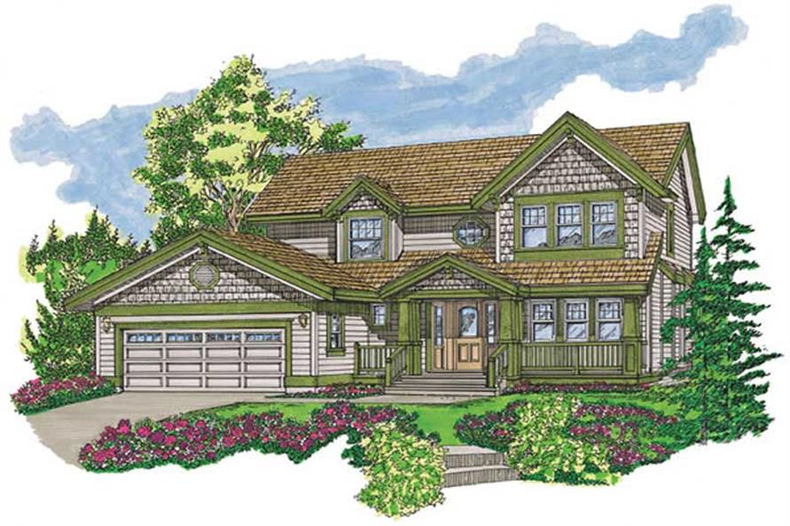 Main image for house plan # 7272