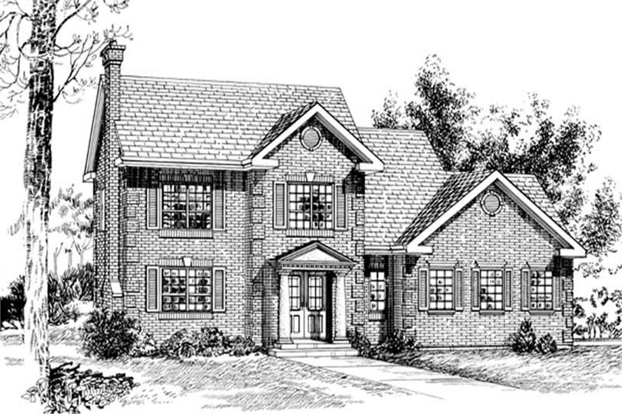 Main image for house plan # 7193