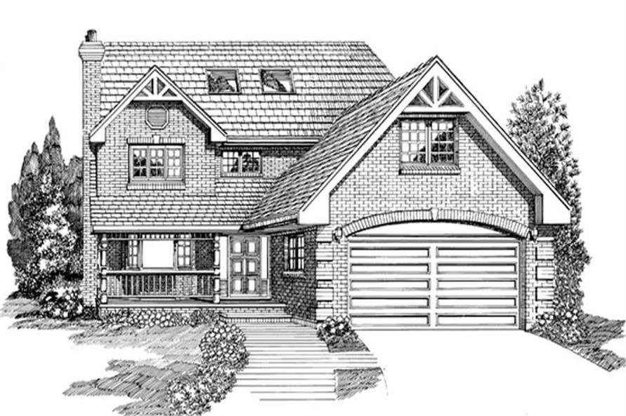 Main image for house plan # 7089