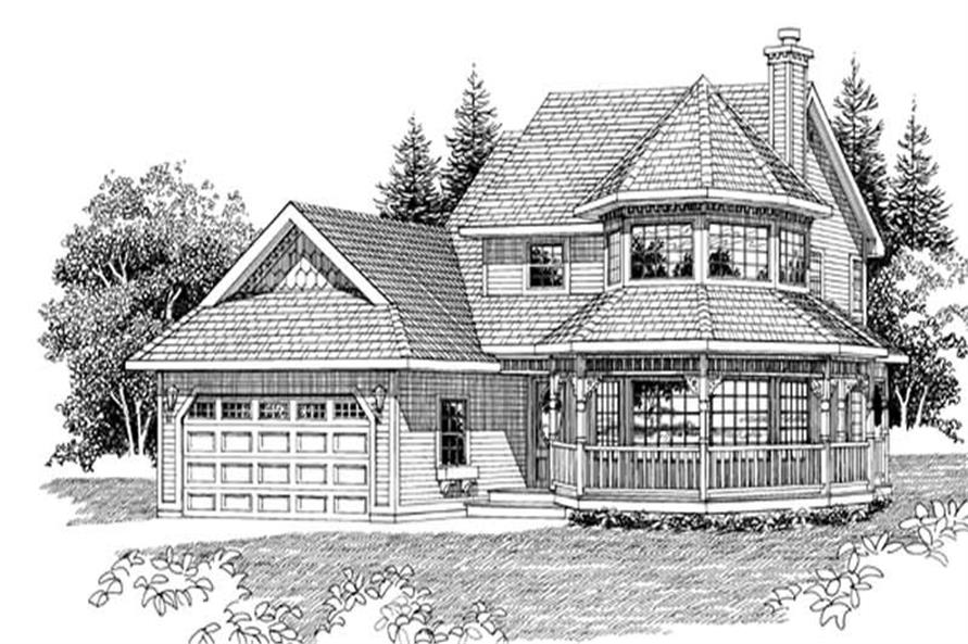 Main image for house plan # 7180