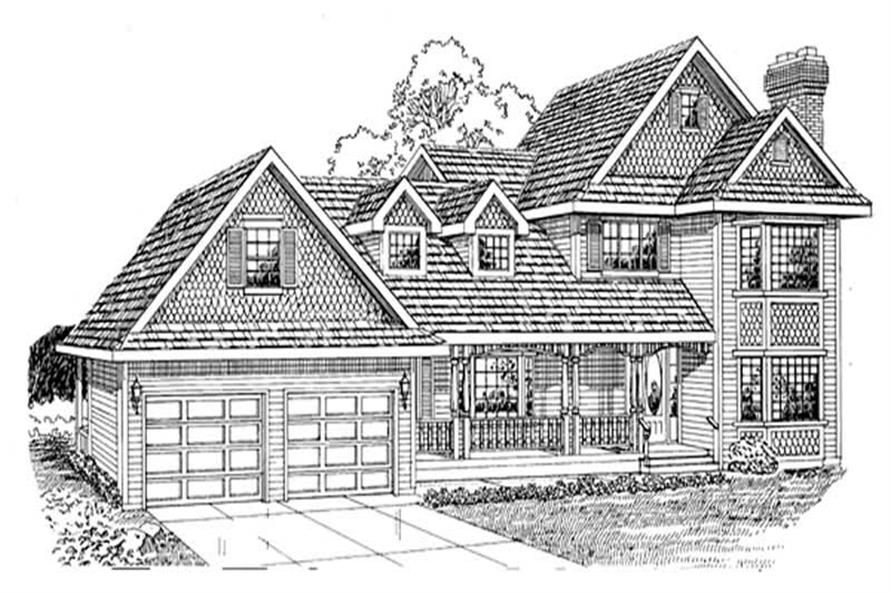 Main image for house plan # 7182