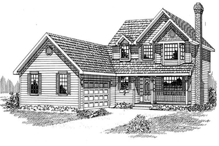 Main image for house plan # 7183